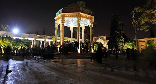 Hafez Mausoleum in Shiraz - Iran